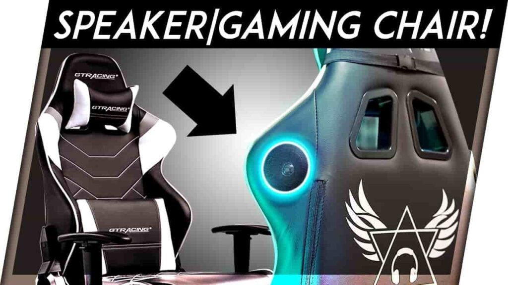 Game Chair With Speakers
